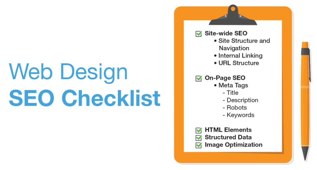seo website design checklist