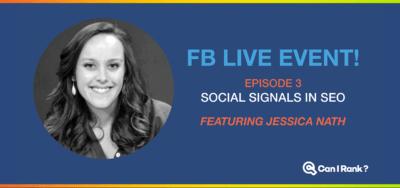 FB Live event social media and seo